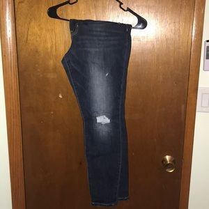 Gap legging jeans size 14
